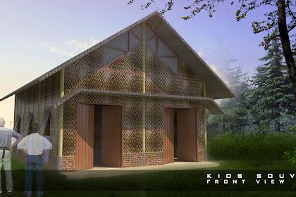 Jasa desain kios tradisional, balai, pujasera, warung