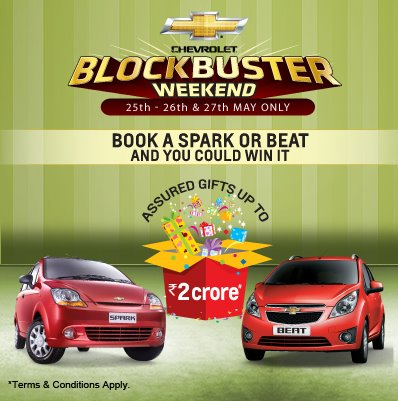 Book A General Motors Chevrolet Spark Beat And You Could