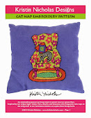 Cat Nap Embroidery PDF