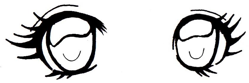 comment dessiner des yeux de femme