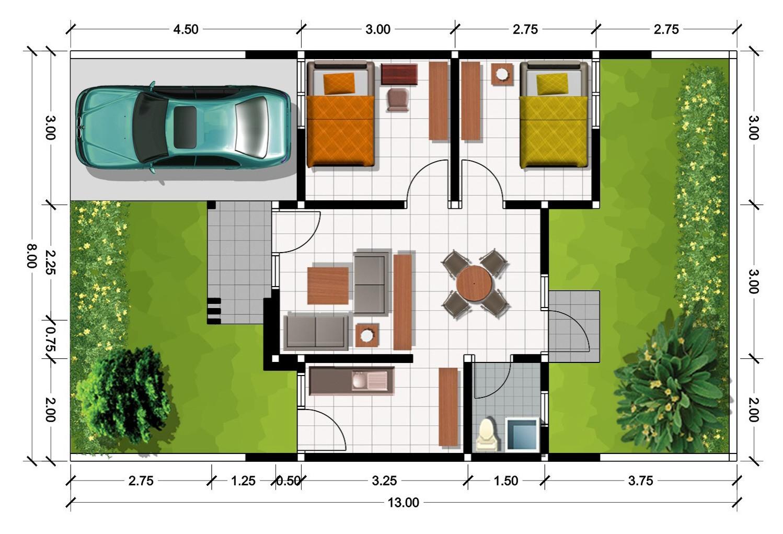 contoh gambar denah rumah minimalis 3d rumah minimalis 2014
