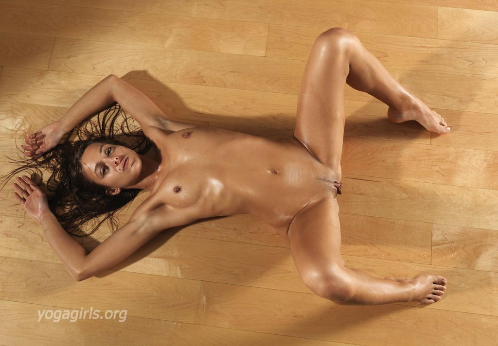 Remarkable, the sexy naked girls doing yoga