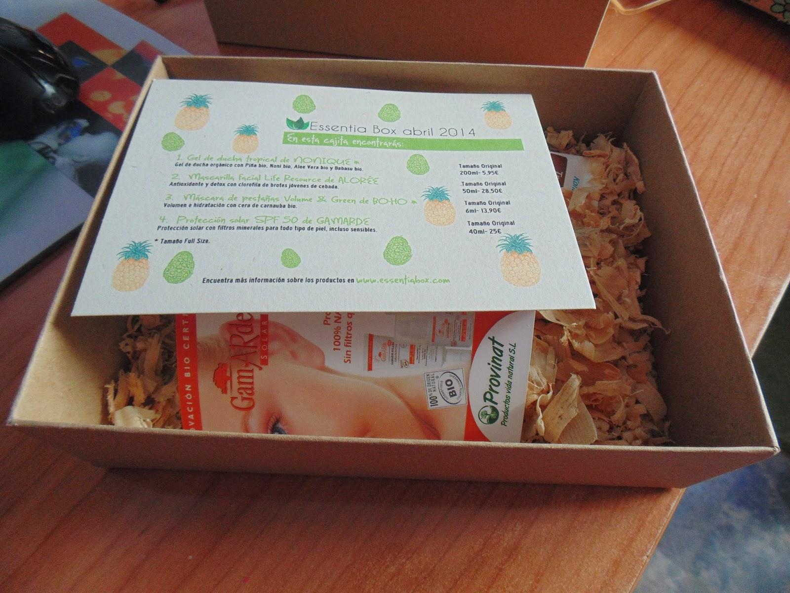 Essentia Box Abril 2