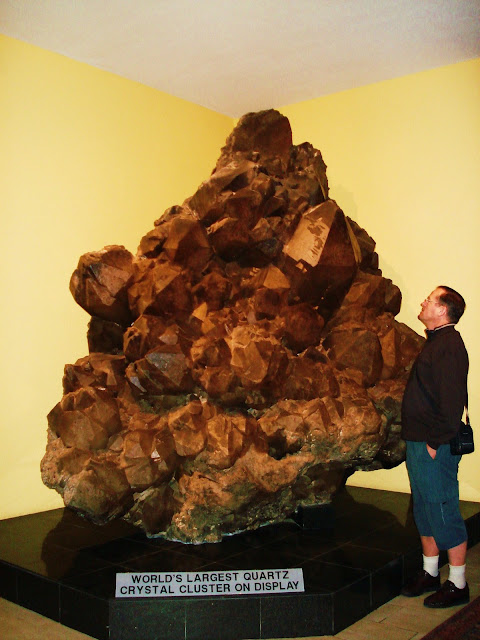 World's Largest Quartz Crystal! : Travel Photo Thursday.