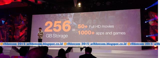 Keunggulan storage 256Gb Zenfone 2 Deluxe Special Edition