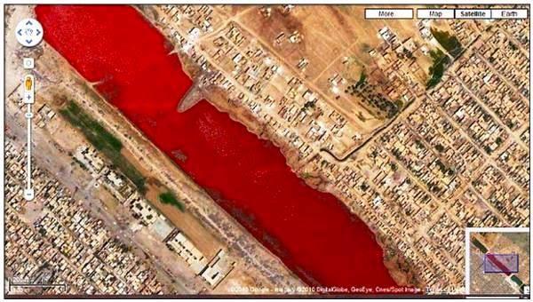Águas vermelhas