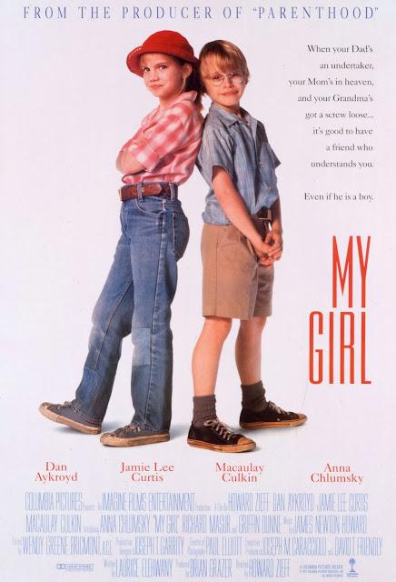 "Cartaz / Poster do filme ""Meu Primeiro Amor"" (My Girl) - 1991"