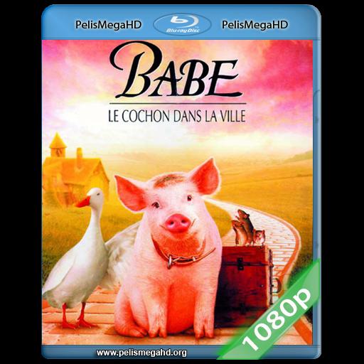 BABE, EL CERDITO EN LA CIUDAD (1998) FULL 1080P HD MKV ESPAÑOL LATINO