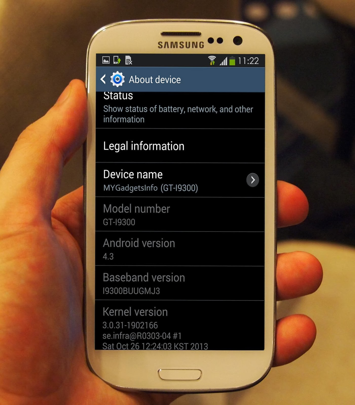 Download Android 4.3 Test Firmware for Samsung Galaxy S3 ...