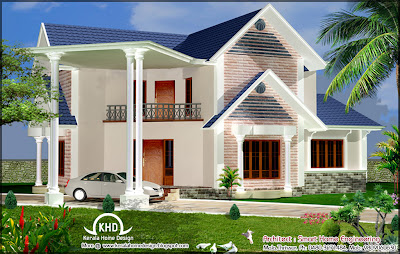House Elevation Design - 223 Square Meter (2400 Sq. Ft) - August 2011