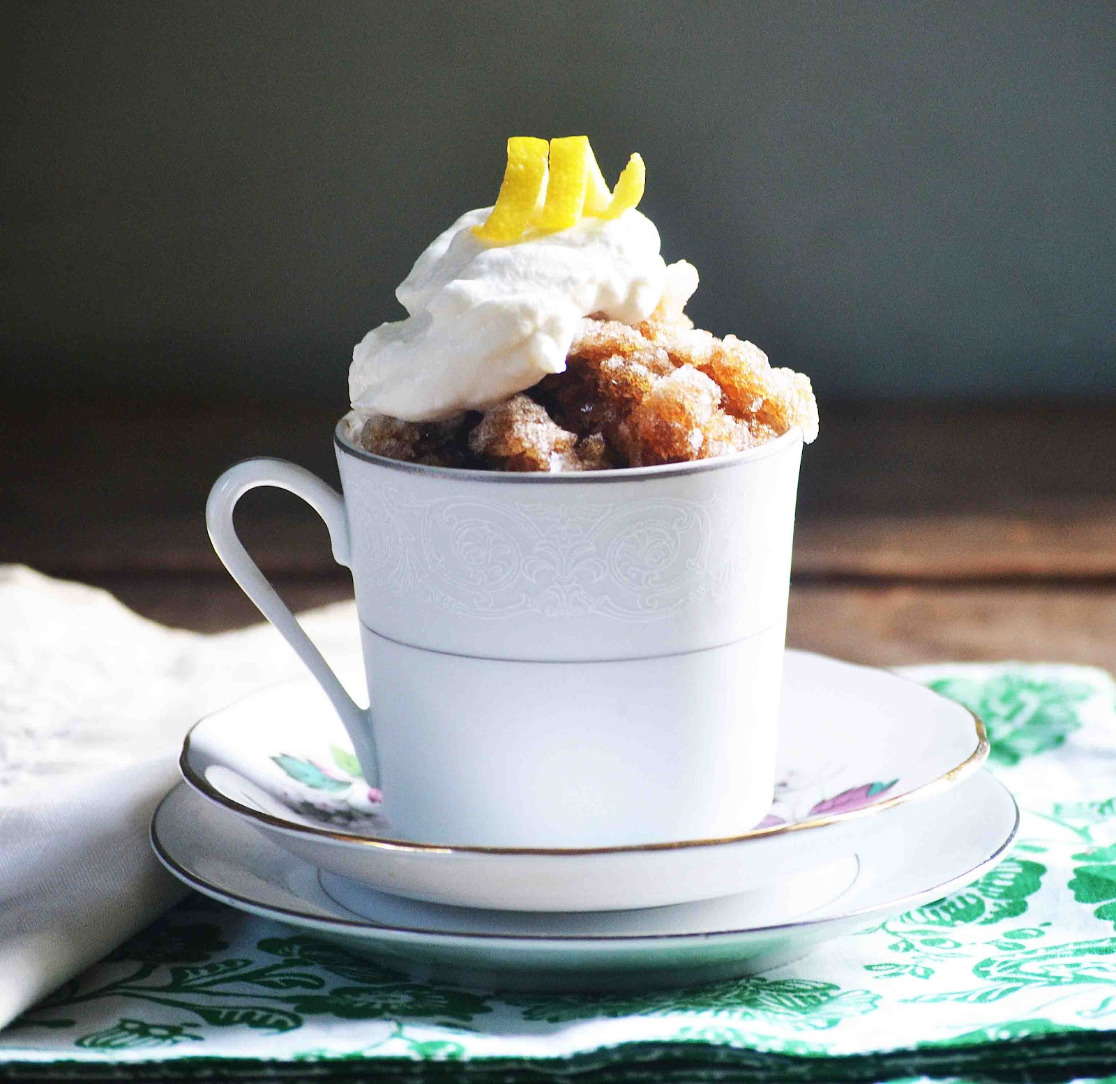 Espresso Granita With Lemon Cream ~Sundays With Joy ...