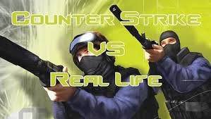 Counter Strike VS Real life (Video)