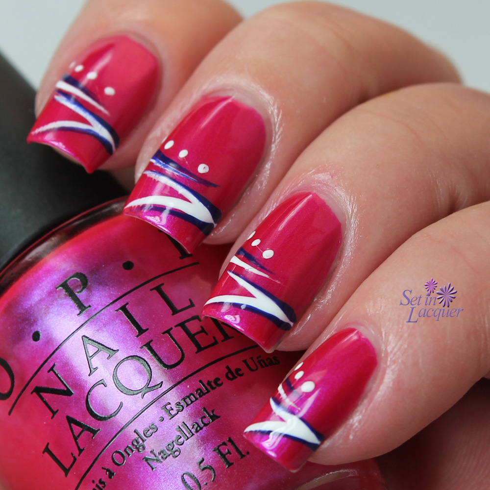 Nail Designs Stripes And Dots Stripes And Dots Nail Art