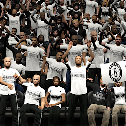 NBA 2K14 Brooklyn Nets Playoffs Crowd Mod
