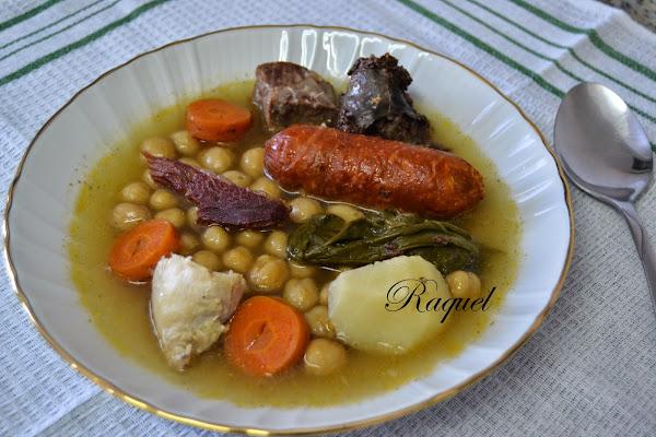Garbanzos con acelgas cocinar en casa es - Preparacion de garbanzos cocidos ...