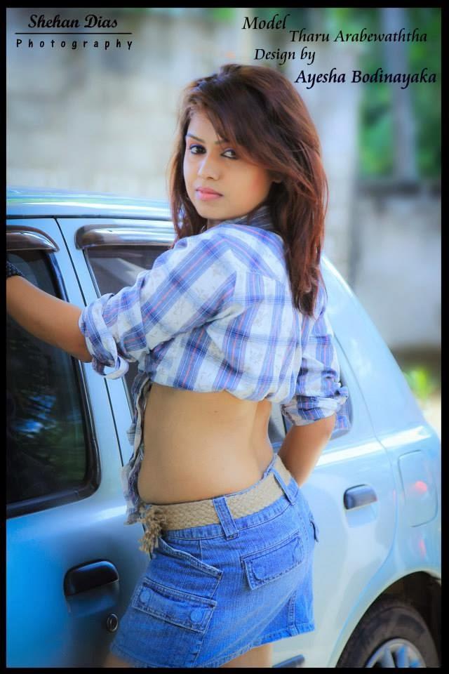 Tharu Arabewaththa hot back