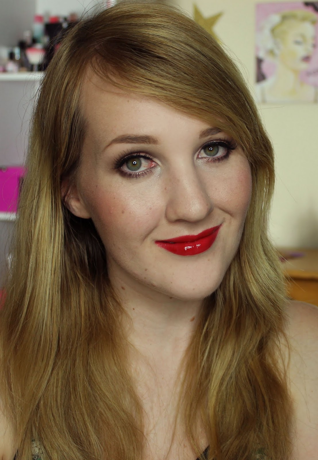 MAC Pencilled In: Ruby Woo Lipglass Swatches & Review