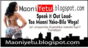 Maoni Yetu- Toa Yako