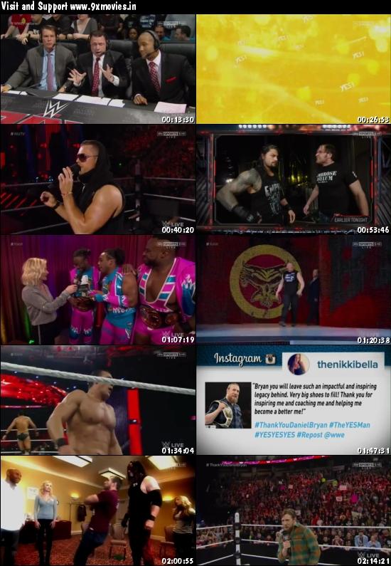 WWE Monday Night Raw 08 Feb 2016 HDTV 480p