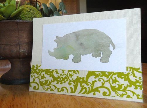 Baby Animal Card