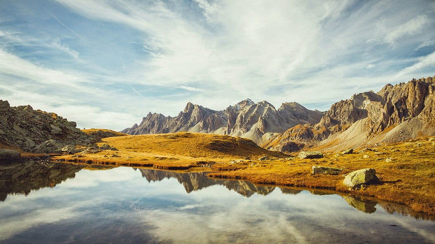 Long lake - Travel With My Photographs Of The French Alps