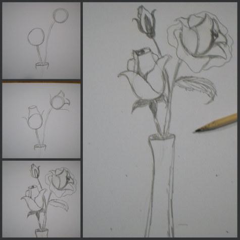 Corso di grafica e disegno per imparare a disegnare for Fiori facili da disegnare