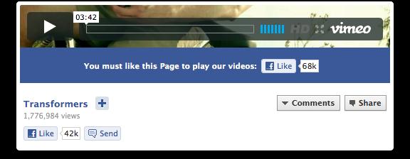 APP de vídeo PARA PÁGINAS EN FACEBOOK