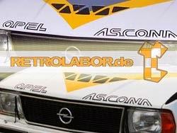 Opel Ascona 400 decals