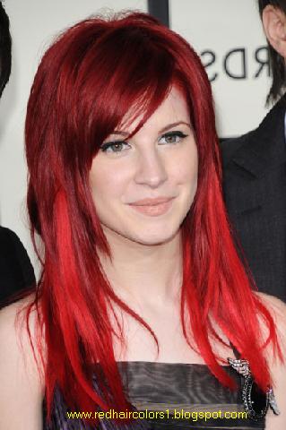 garnier hair color dark brown. Garnier Red Hair Color;