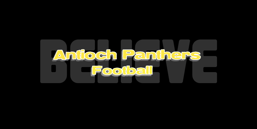 Antioch Panther Football