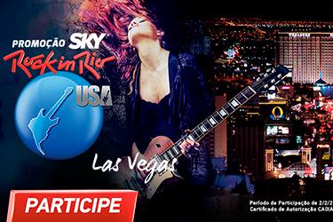 """Promoção Sky – Rock In Rio – Las Vegas"""""""