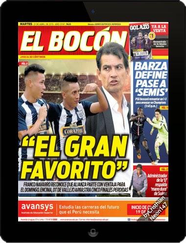 Diario El Bocón (21 Abril 2015) ESPAÑOL -