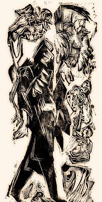 El poeta agitat (Ernst Ludwig Kirchner)