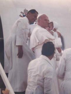 3 - Pope John Paul II Visits Iloilo City (1981) - Philippine Photo Gallery
