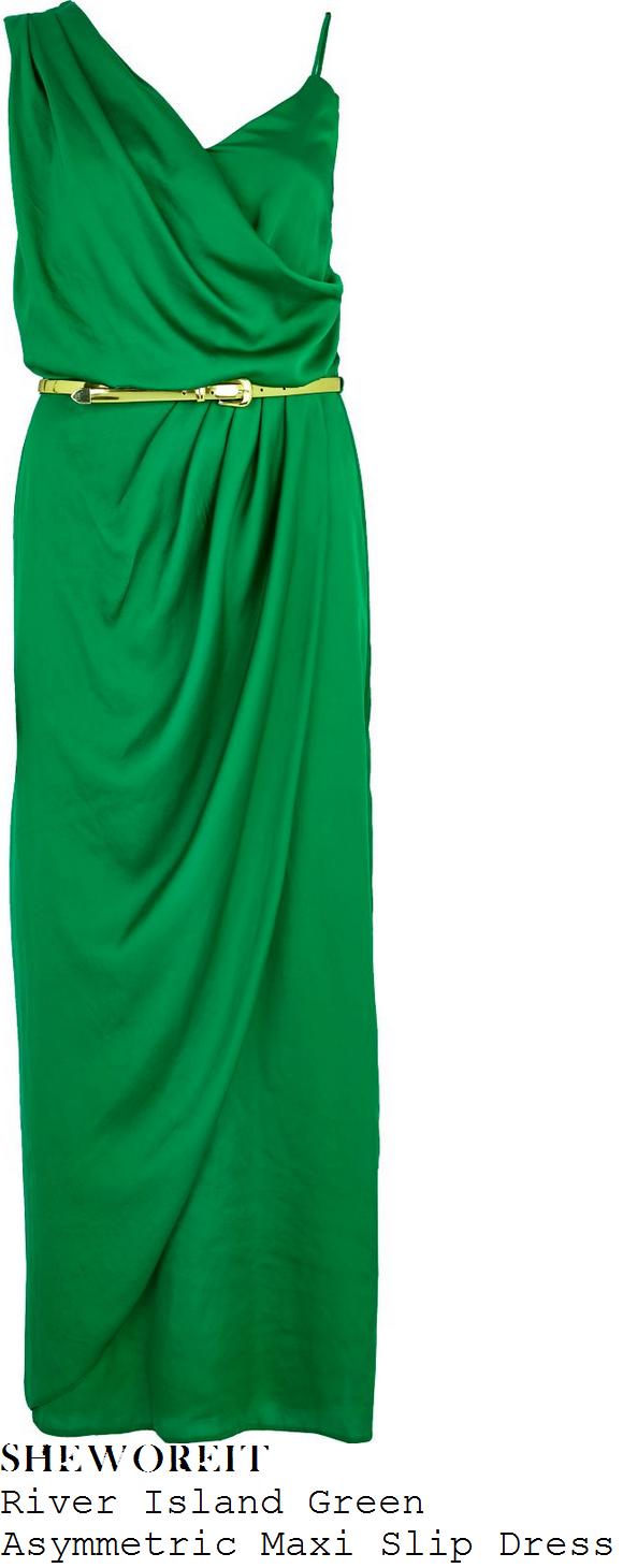 sam-faiers-green-asymmetric-sleeveless-draped-maxi-dress-dubaii