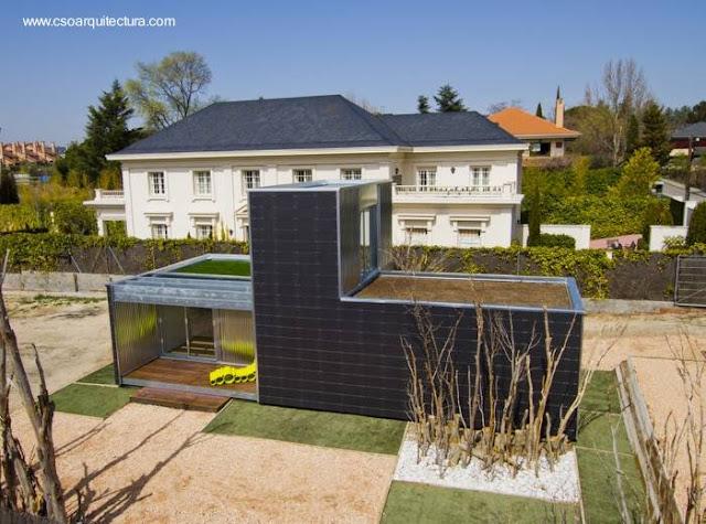 Casa prefabricada modular española