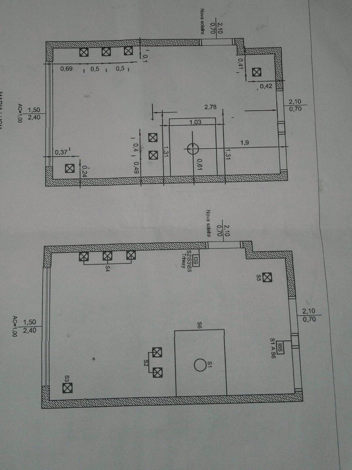 fiação está acima do teto de gesso e conforme a planta irei  #535958 1200 1600