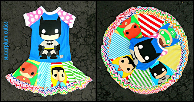Sugarplum Cuties: Pop Superhero Dress