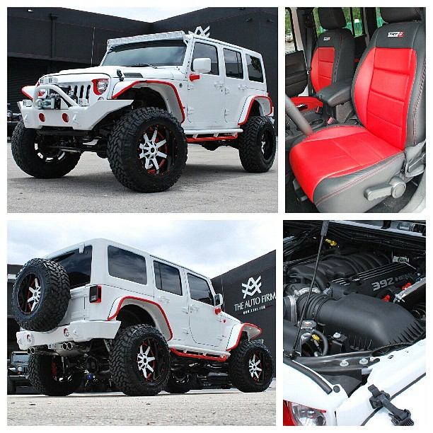 Jeep Wrangler Miami: The First Ever Jeep Wrangler Avorza SRT8 Edition