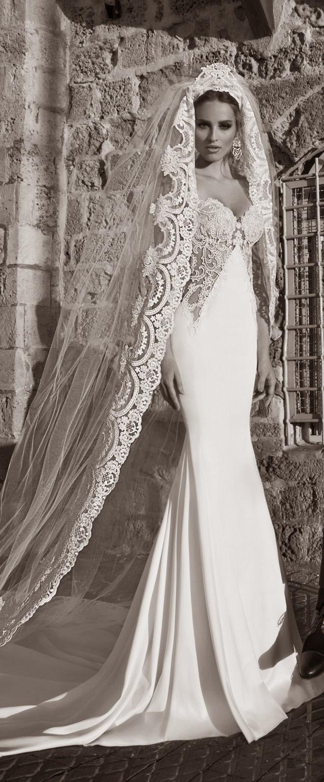 Galia Lahav Spring 2015 : La Dolce Vita Bridal Collection ...