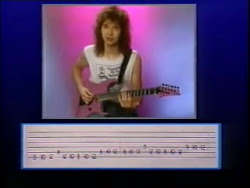 Paul Gilbert Intense Rock and Sequences Lesson