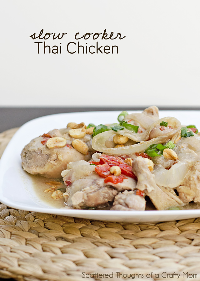 Slow Cooker Thai Chicken Recipe