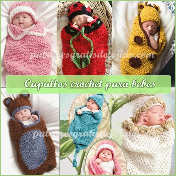 Capullo crochet para bebe paso a paso
