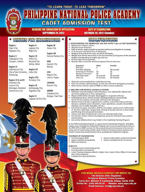 PNPACAT 2012 Poster