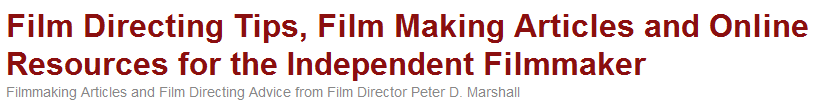 http://filmdirectingtips.com/
