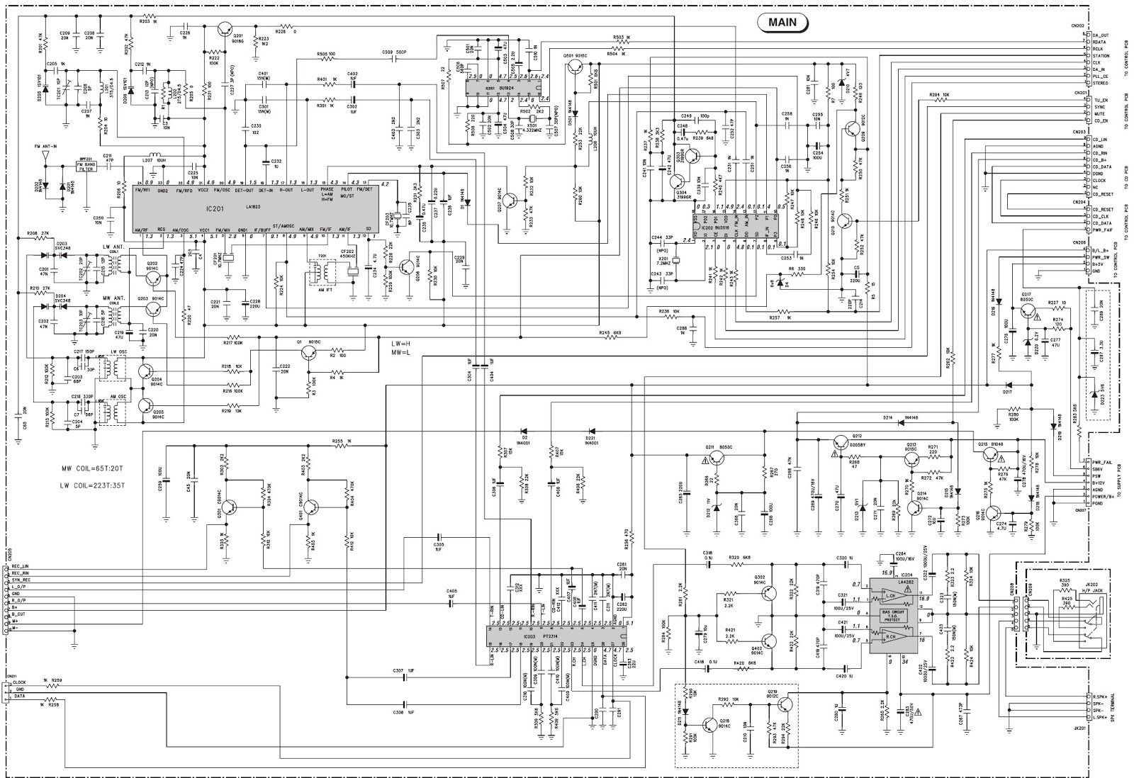 yamaha thomson cs 100 cs 105 schematic diagram circuit yamaha thomson cs 100 cs 105 schematic diagram circuit diagram