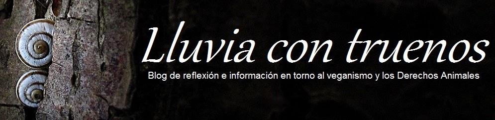 LLUVIA CON TRUENOS