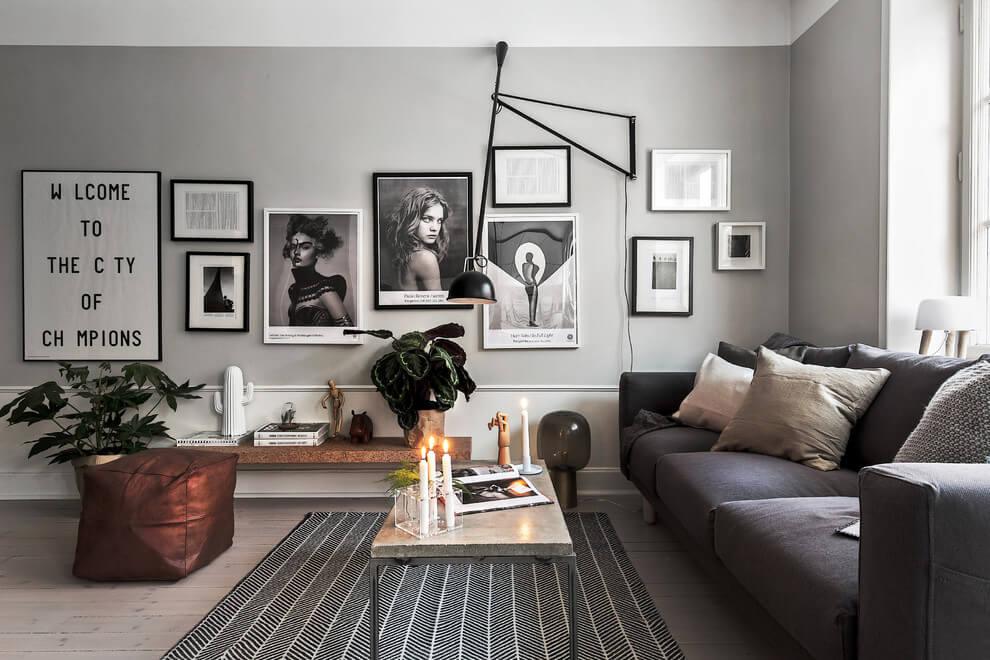 Un appartamento in stile scandinavo a stoccolma coffee break