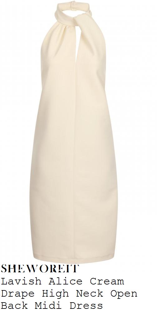 lydia-bright-cream-sleeveless-high-neck-dress-marbs