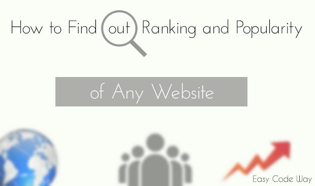 Find out Ranking and Popularity of any Website
